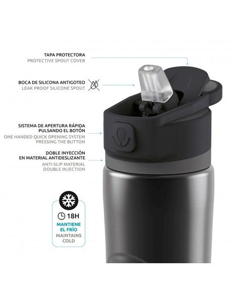 Botellas reutilizables - Botella térmica modelo Spring 600 ml Quokka - 4