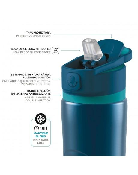 Botellas reutilizables - Botella térmica modelo Spring 600 ml Quokka - 5