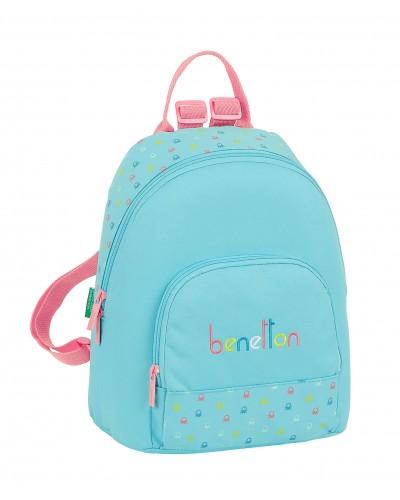 "escolares - Mini mochila 13L Benetton ""Candy"" de Safta - 0"