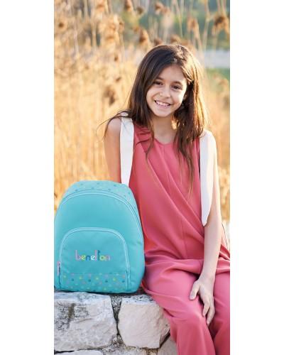 "escolares - Mini mochila 13L Benetton ""Candy"" de Safta - 1"