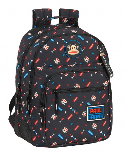 "escolares - Mochila doble 15L Paul Frank ""Retro Gamer"" de Safta - 0"