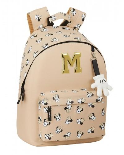 "escolares - Mochila 16L para portátil 14,1"" Minnie Mouse ""Happy Days"" de Safta - 0"