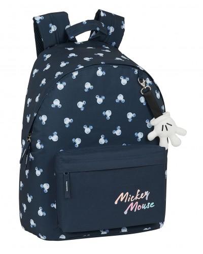 "escolares - Mochila 16L para portátil 14,1"" Mickey Mouse ""Moon"" de Safta - 0"