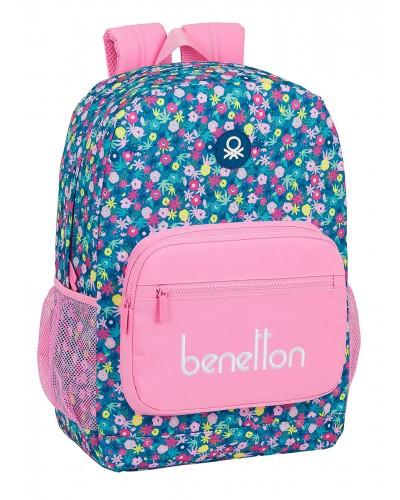 "escolares - Mochila 14L Benetton ""Blooming"" de Safta - 0"