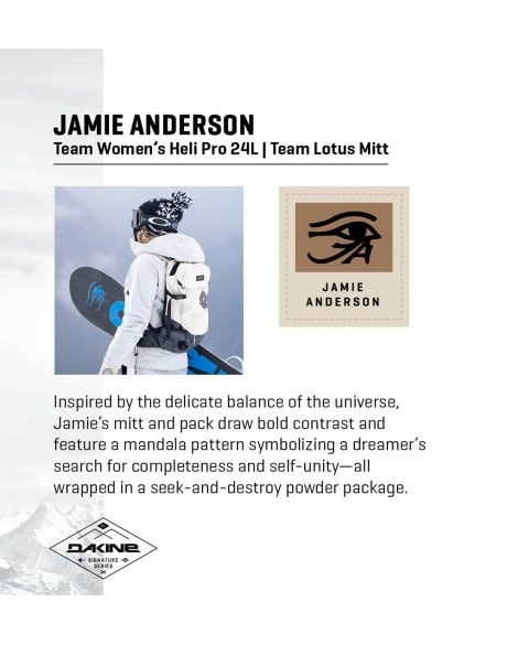 Deportes de invierno - Mochila Women's Heli Pro 24L Ski/Snowboard Jamie Anderson de Dakine - 1