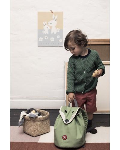 escolares - Mochila infantil Hilda zorro verde de Franck Fischer - 1