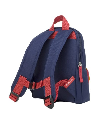 escolares - Mochila Mini Navy Colour Block de Zip & Zoe - 1