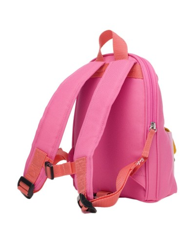 escolares - Mochila Zip & Zoe Mini Pink Colour Block - 1