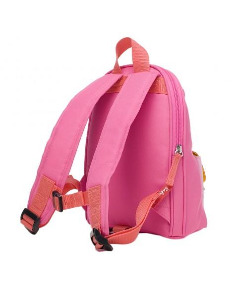 Escolares - Mochila Zip & Zoe Mini Pink Colour Block - 1