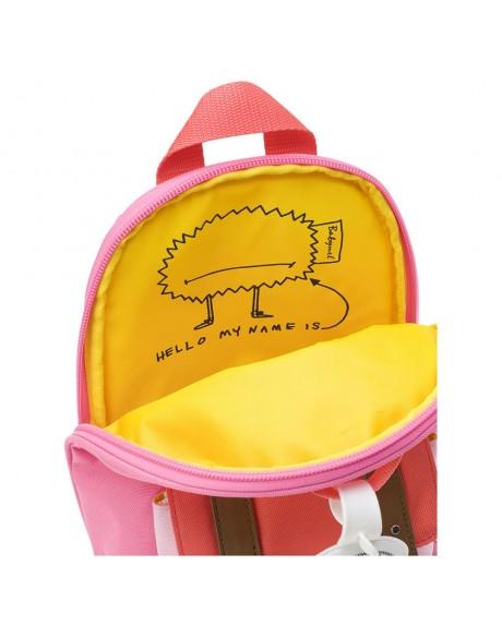 Escolares - Mochila Zip & Zoe Mini Pink Colour Block - 5
