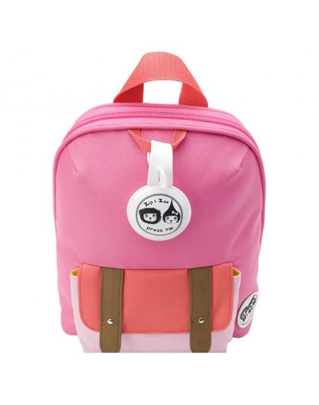 Escolares - Mochila Zip & Zoe Mini Pink Colour Block - 4
