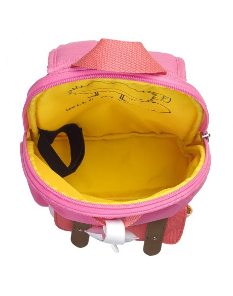 Escolares - Mochila Zip & Zoe Mini Pink Colour Block - 6