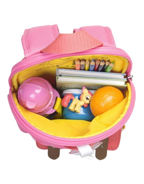 Escolares - Mochila Zip & Zoe Mini Pink Colour Block - 7