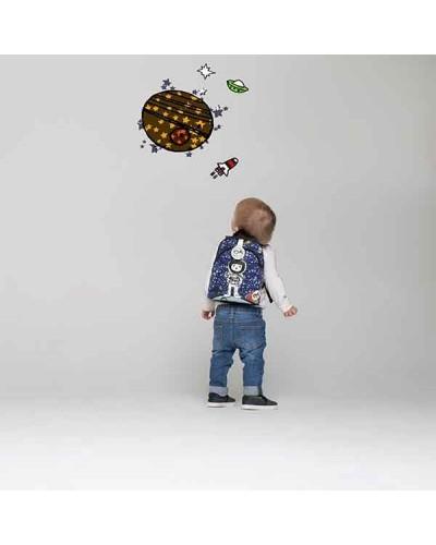 escolares - Mochila Mini Spaceman de Zip & Zoe - 1