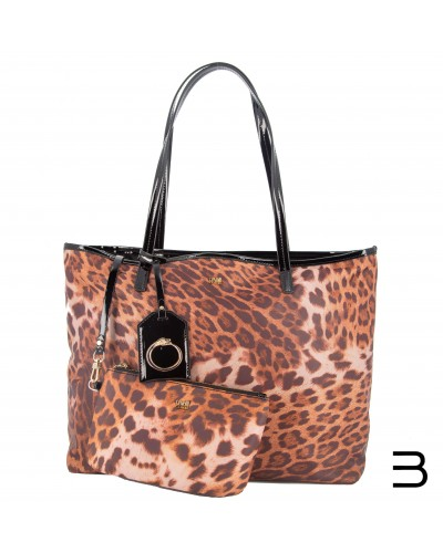 tote-bags - Shopping Bag Lorraine 002 Leopard de Cavalli Class - 0