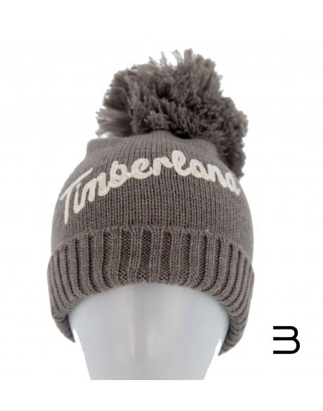Gorros y gorras - Gorro con pompón y logo bordado de Timberland - 6
