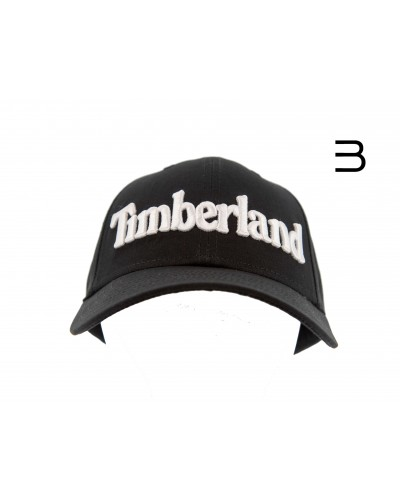 gorros-y-gorras - Gorra de Béisbol con logotipo bordado Timberland - 0