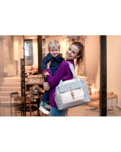 maternidad - Bolsa maternal Jude Convertible bandolera / mochila de Storksak - 1